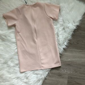 Missguided Dresses - Missguided Scuba V Neck Shift Dress